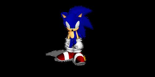 A new Sonic model? by jetknight