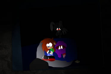 Jet and Ruby play SLENDER by jetknight