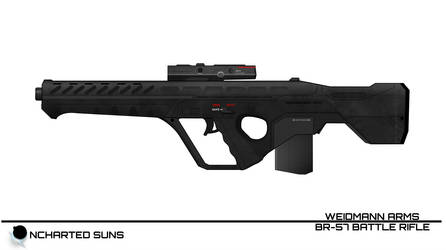 BR-57 Battle Rifle -Uncharted Suns- by breizh87