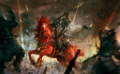 war god by Wen-Xaeroaaa