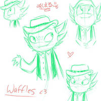 Waffles Sketches by MiharuWatanabe