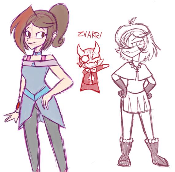ZVARRI GIRLS by MiharuWatanabe