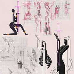 Tomoe Sketch by Robotpunch