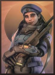 [SFM Overwatch]- Ana Amari by Dafomin