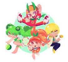 [Cookie Run] Citrus Squad by Aka-no-Sekai