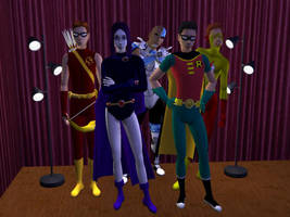 Meet the Sim Titans by GeneralYin