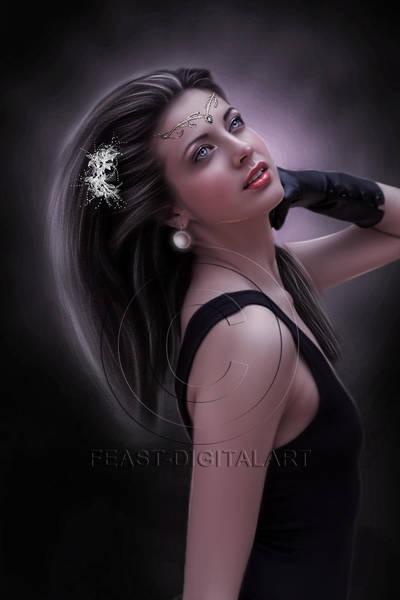 Elegance by Fizza-Digitalart
