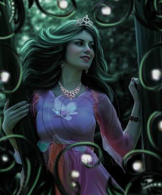 Enchantress by Fizza-Digitalart