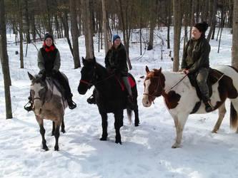 A Winter Ride by JazmyneReede