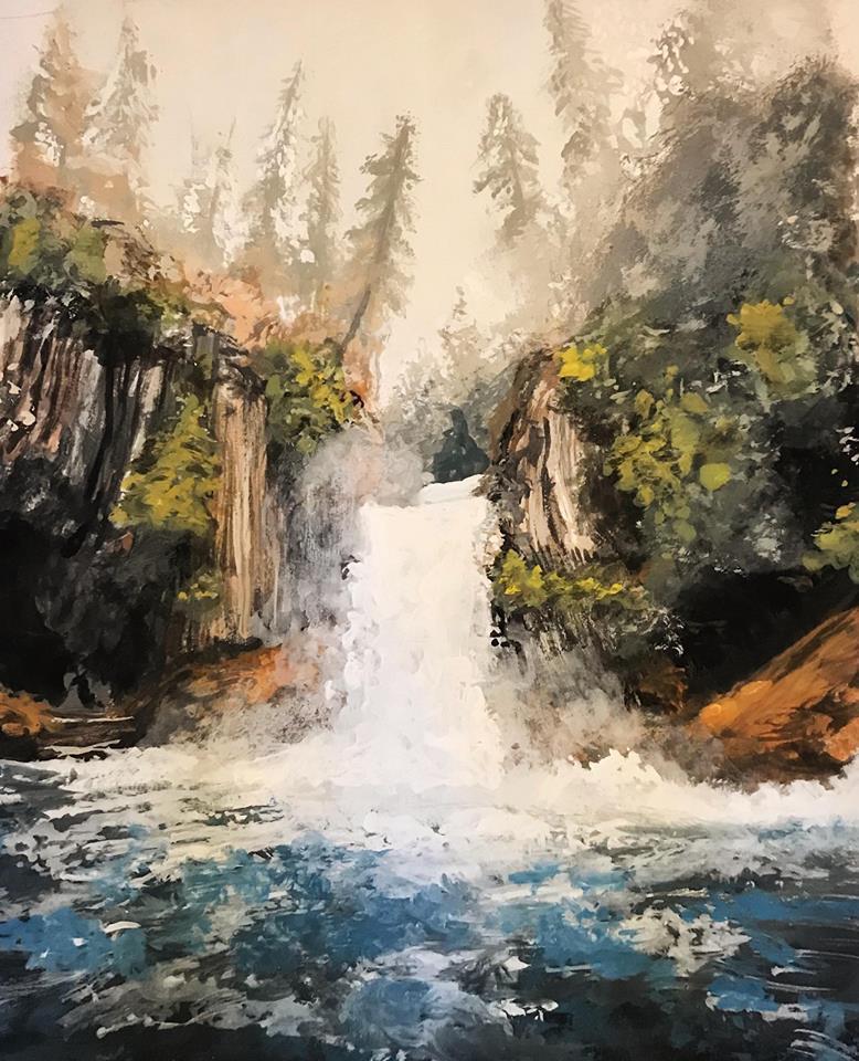 Northwestern Waterfall by KristynJanelle