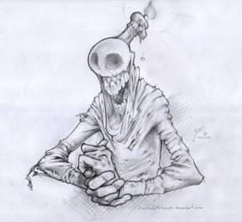 Spooky Guy by SuminskyArtwork