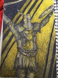 Solaire of Astora- Dark Souls by Mouldy-Beard