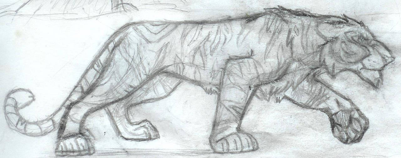 Tiger by WimbiTheDreamChaser