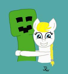 Creeper hugz by Yellowninja2