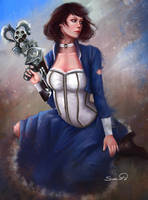 Elizabeth Bioshock Infinite by Sicarius8