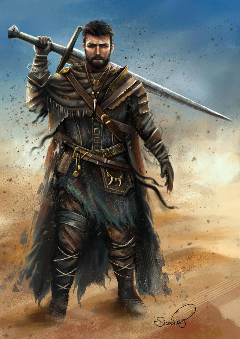 Aldwin (commission) by Sicarius8