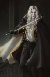 Alucard Castlevania by Sicarius8