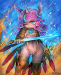 [Practice] Little Warrior by girlsay