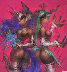 [Art trade]Villainship by girlsay
