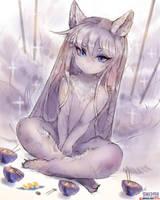 [Practice]Swedish kitsune by girlsay