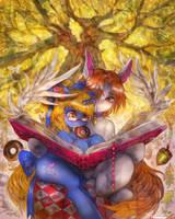 [Commission] Golden Oak by girlsay