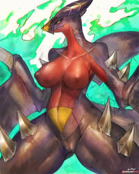 [Practice]Garchomp by girlsay