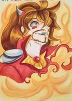 [Fan art] : Balthazar folie by juliabakura