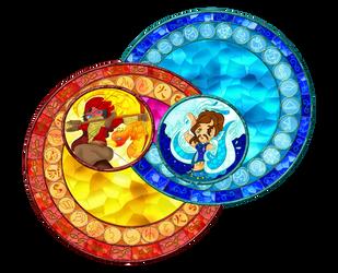 [Fan art] : Swap vitrail aventures by juliabakura