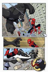 Spidey vs. Venom #1 by Rogulja