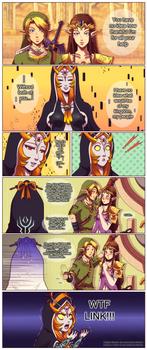 Awkward  farewell by General-Link