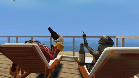 GMod: Beach House by TEi-Has-Pants