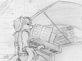 GLFC Piano Fox by krazykelli