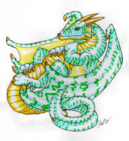 Full Dragon by krazykelli