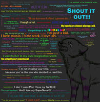 Shout it out by neonspider