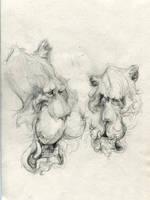Stripeless Sulk Tigers by ChloeC