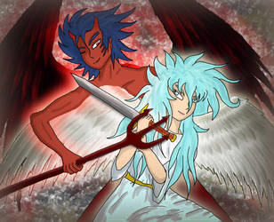 Angel and Devil by Tris-BK