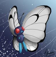 Butterfree Speedpaint by SonARTic