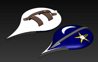 Commander Star Bolt's Bladed Shield by EQ7-2521