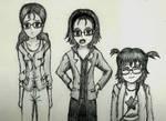 Ogawa, Kouda, Himeji - Girls High by TalentlessHacked