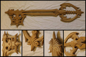 Oblivion Keyblade (unpainted) by Bayr-Arms