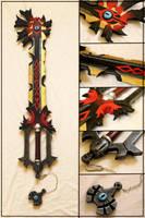 Chaos Ripper Keyblade by Bayr-Arms