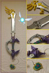 Guardian Of Hyrule Keyblade by Bayr-Arms