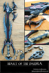 Heart of The Daedra Keyblade by Bayr-Arms