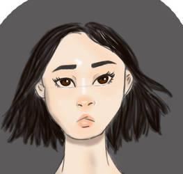 Asian Model by NinjaGirl101