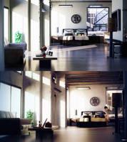 Loft Study 3-4 by sanfranguy