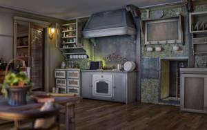 Kitchen by sanfranguy