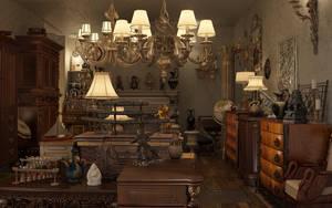 Antique shop Revision by sanfranguy