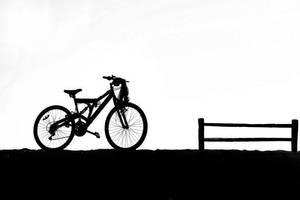 black bike by dinemiz