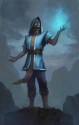 Realistic Wizard by CedricYiu