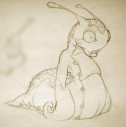 Sketchbook Dump: Dork Slug by RougeSpark